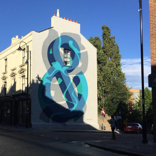 Mural, Church Road, Crystal Palace