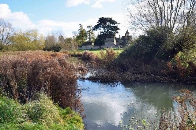 River Windrush, Witney, Oxon