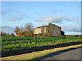 TL1381 : Barn, Steeple Gidding by Robin Webster