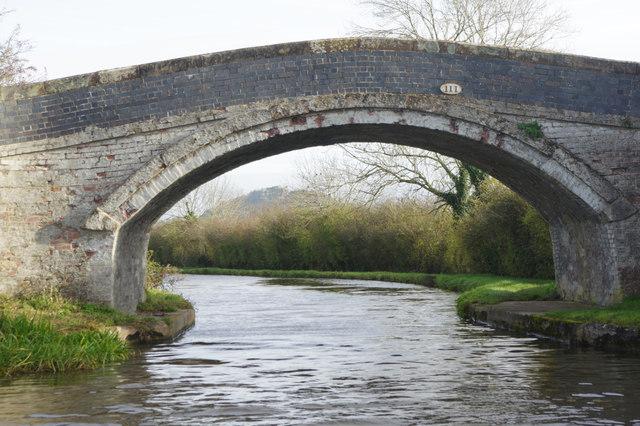 Williamson's Bridge, Shropshire Union Canal