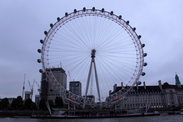London Eye from the river
