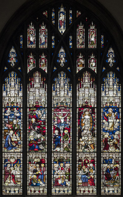 Chelmsford Cathedral - Stained glass window