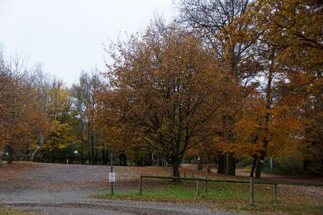 Car park at Godstone Farm