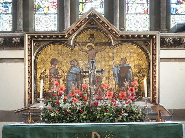 All Saints, Woodford Wells - Reredos