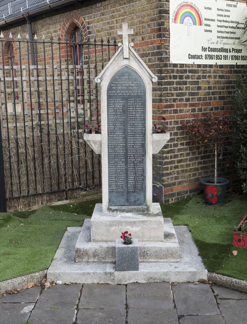 St Stephen, Buckhurst Hill - War Memorial