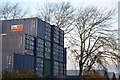 SU3813 : Containers and trees on the corner of First Avenue by David Martin