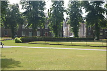 TL4558 : Bowling green, Christ's Pieces by N Chadwick
