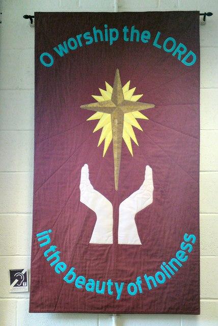 Zion church banner