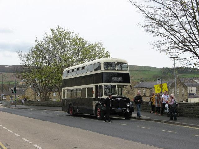 Preserved Former Hebble Motor Services Bus, Gargrave Road