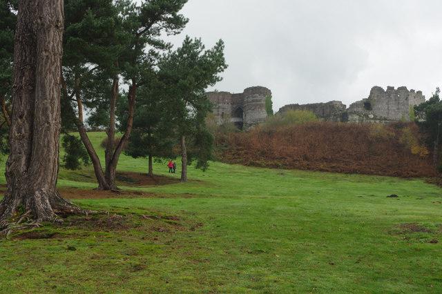 Outer Ward: Beeston Castle