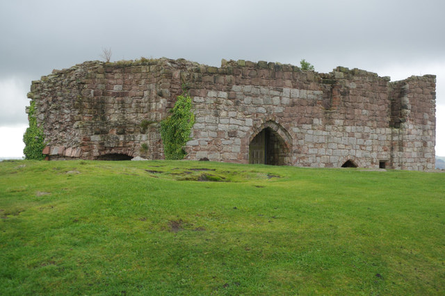 Inner gatehouse: Beeston Castle