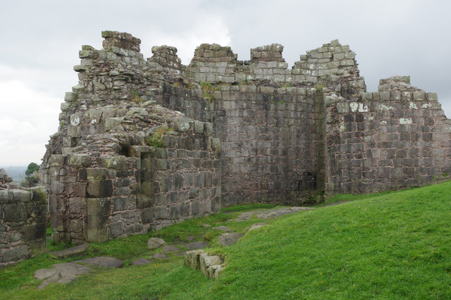 South east tower: Beeston Castle