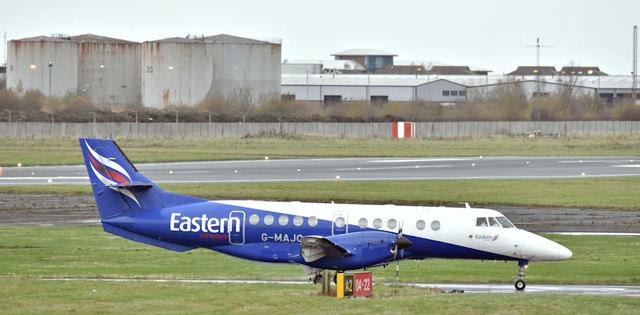G-MAJC, Belfast City Airport (November 2017)