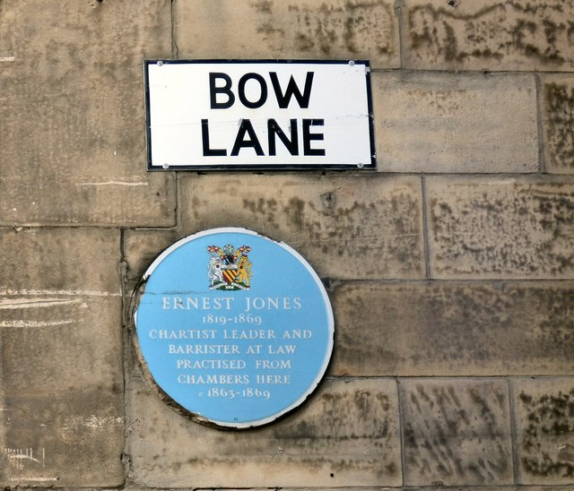 Ernest Jones on Bow Lane