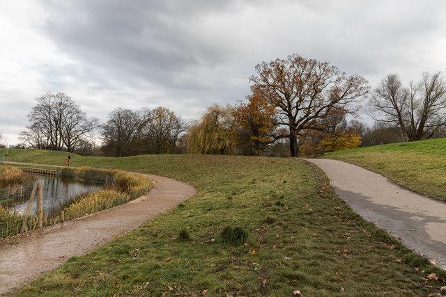 Paths on Hampstead Heath