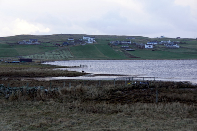 The north end of the Loch of Spiggie