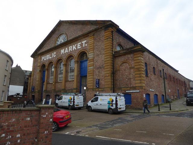 Public market hall, Scarborough