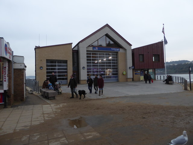 New lifeboat station - Scarborough