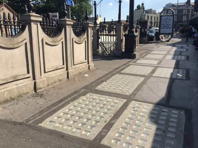 Closed public conveniences, Crystal Palace Parade, south London