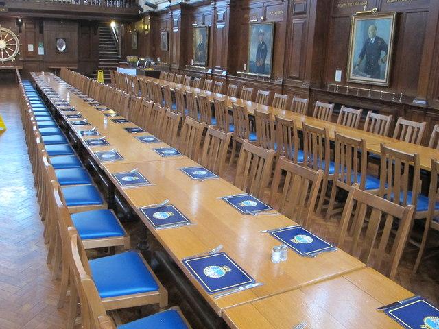 Gun room, Britannia Royal Naval College