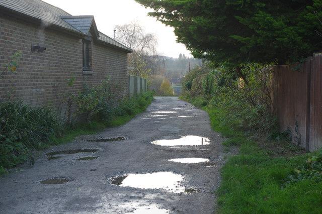 North Downs Way, Merstham