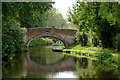 SJ9422 : Baswick Bridge near Stafford by Roger  Kidd
