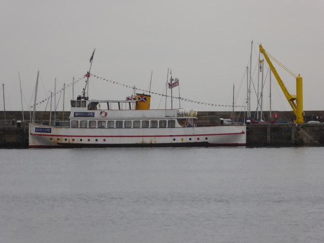 MV Regal Lady, Scarborough