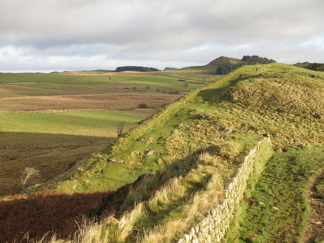 Hadrian's Wall at Cat Stairs