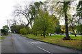 SP1398 : Green space by Little Sutton Road by Bill Boaden
