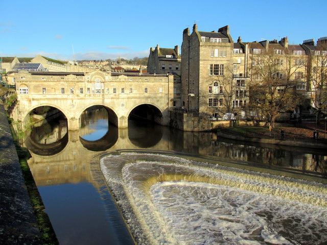Pulteney Bridge & Weir Bath