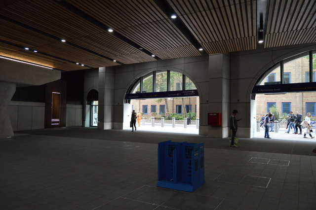 Exit from London Bridge Station