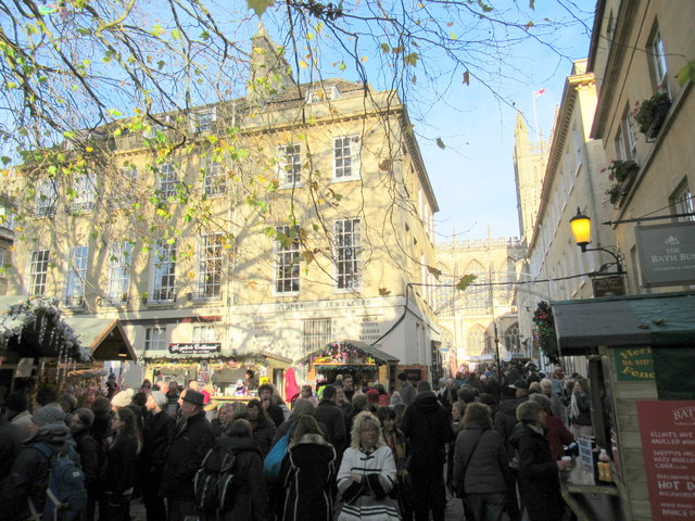 Bath Christmas Market 2017