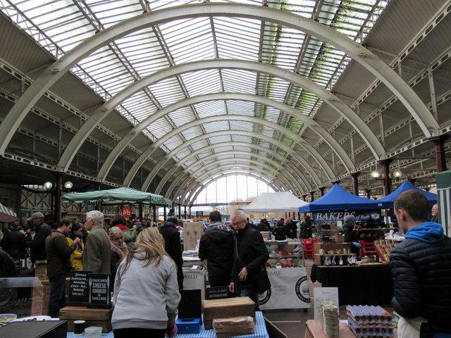 Bath Green Park Station Market Interior
