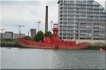 TQ4080 : Lightship 93, Victoria Dock by N Chadwick