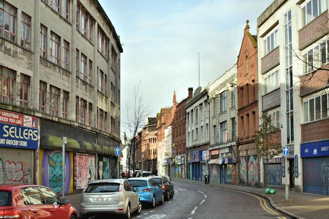 North Street, Belfast (November 2017)