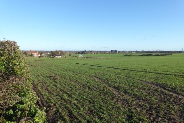 Towards Hillside Farm
