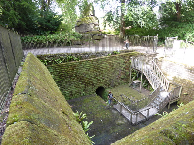 Chatsworth - coal hole and tunnel