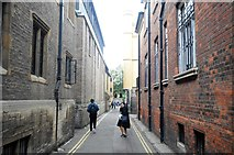 TL4458 : Garret Hostel Lane by N Chadwick