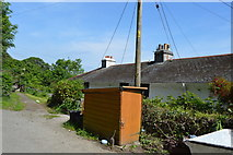 SX4349 : Penlee Cottages by N Chadwick