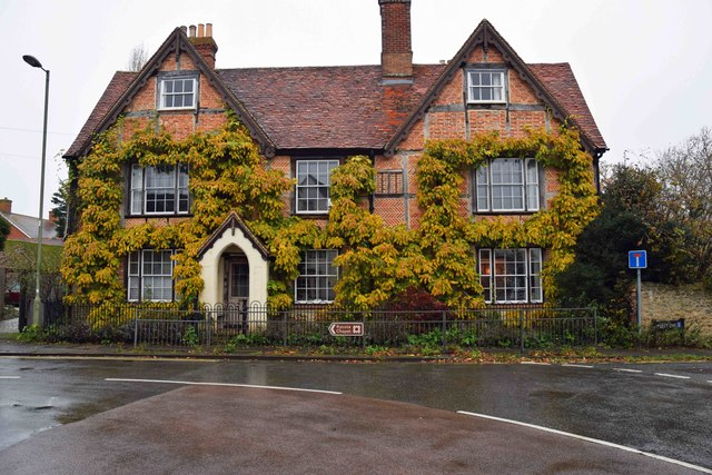 Old house, Priestend, Thame, Oxon