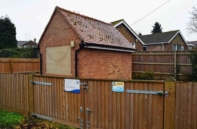 Thames Water building off Oxford Road, Thame, Oxon