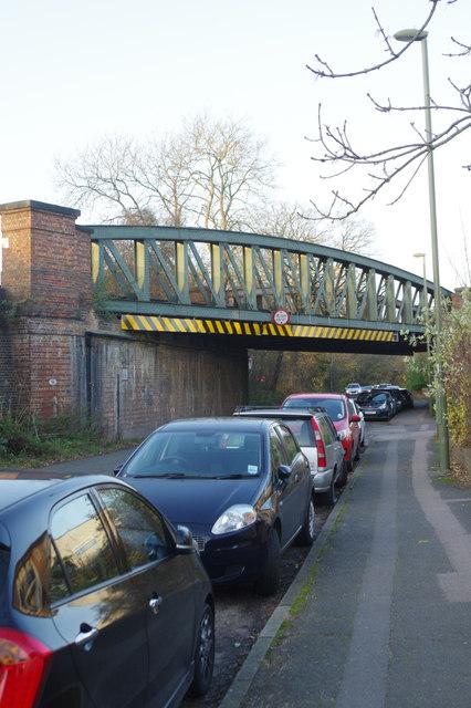 Railway bridge - Nutfield Road, South Merstham