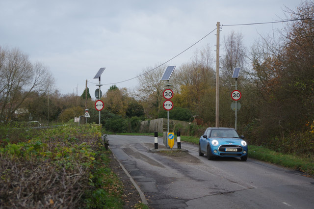 Entering South Merstham