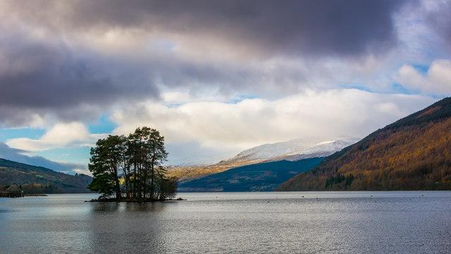 Isle of Spar - Loch Tay