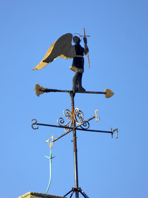 Weather vane, Brantham church