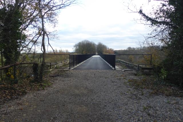 Resurfaced Wharfe Bridge