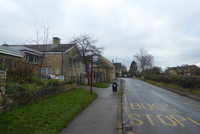 Bus Stop next to Lady Hasting's School