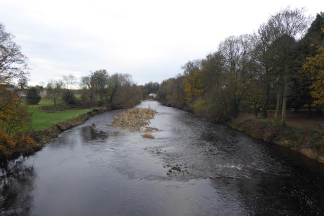 River Wharfe from the bridge