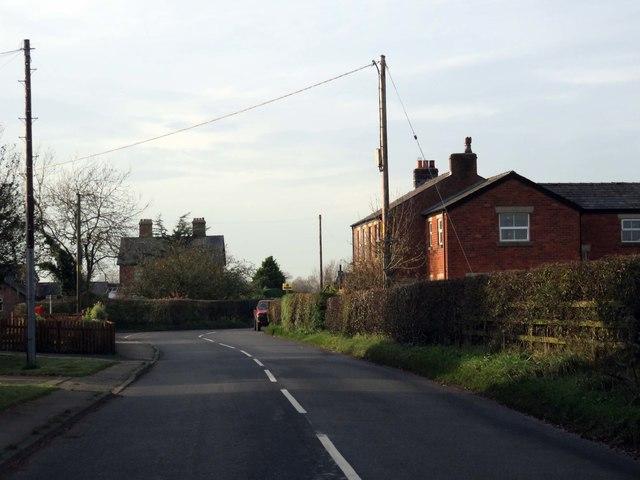 Preston Road in Woodsfold