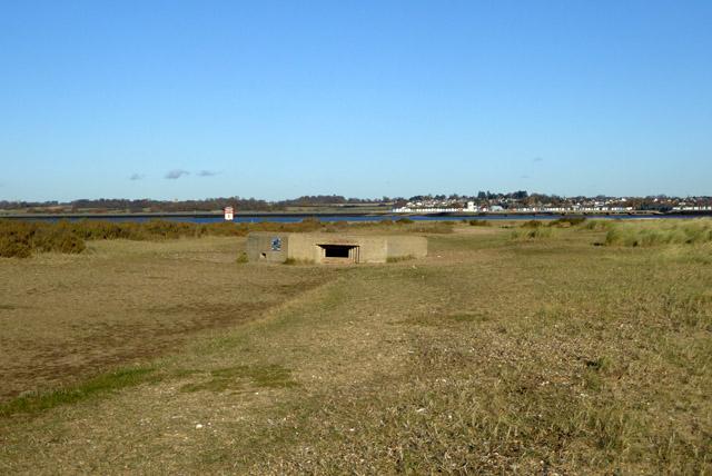 Buried pillbox, Mersea Stone